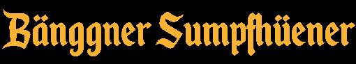 Sumpfhüener Bänggä Logo
